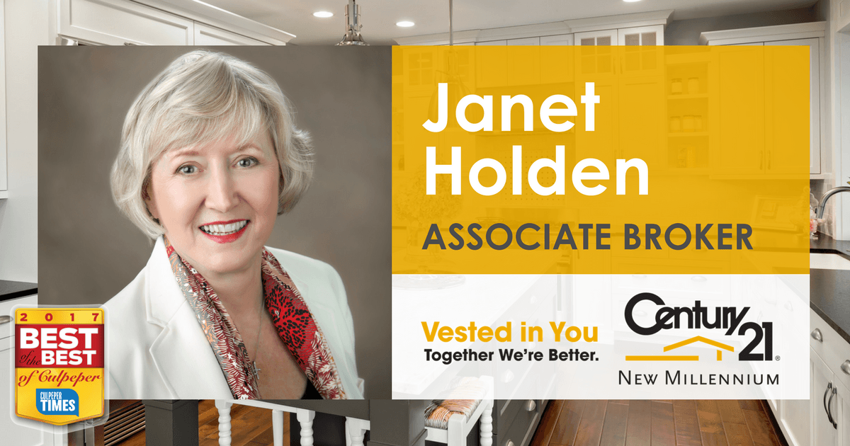 Janet Holden Associate Broker Century 21 New Millennium Janet holden was born in edmonton, canada. janet holden associate broker