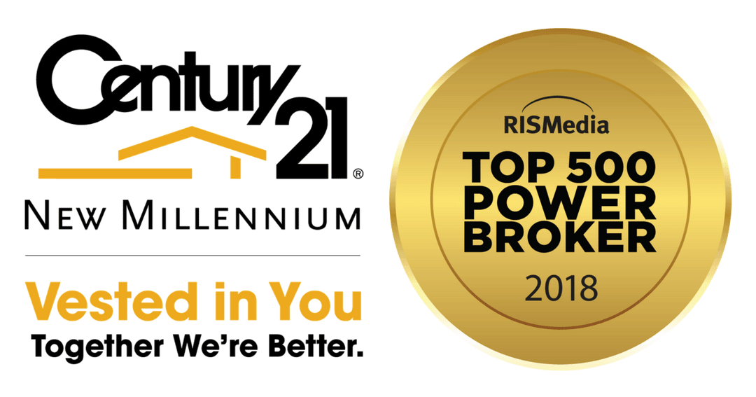 CENTURY 21 New Millennium Ranks as One of Nation's Top-Producing Brokerage Firms in RISMedia's 2018 Power Broker Report