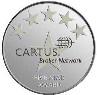 Cartus Broker Network Five Star Award