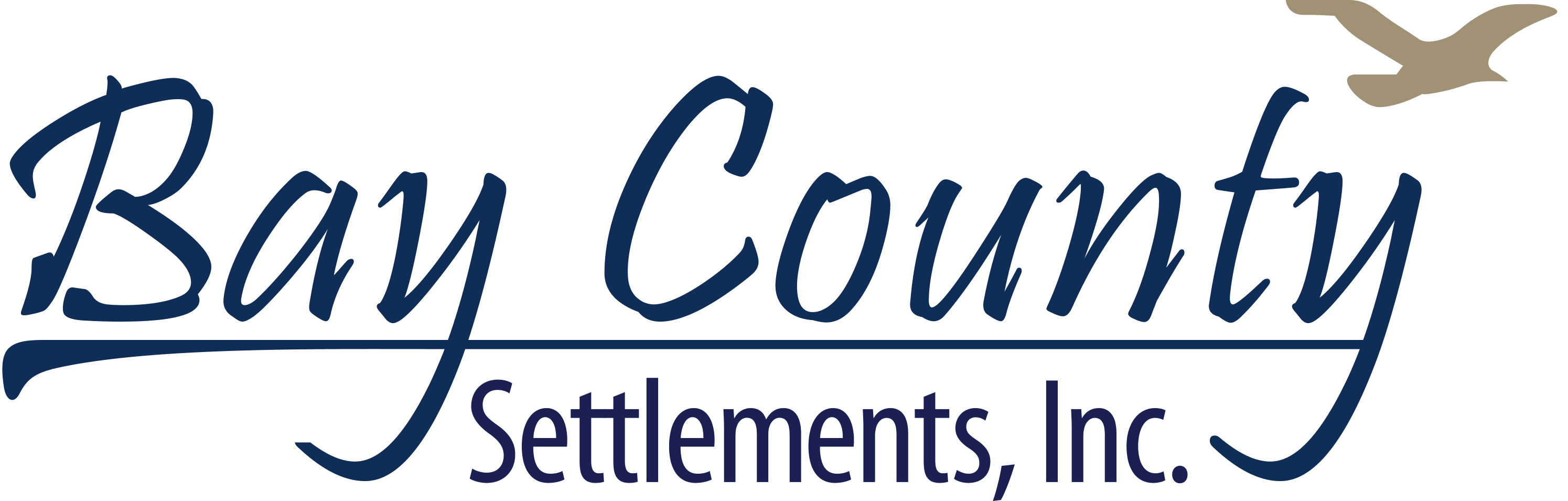 Bay County Settlements logo