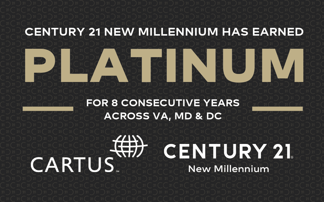 CENTURY 21 New Millennium Named Platinum Award Winner by Cartus Broker Network