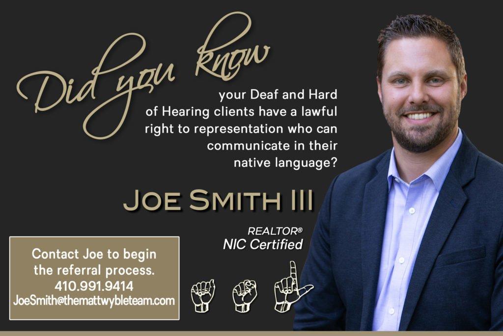 Joe Smith Refer ASL 2019 ADA Flyer