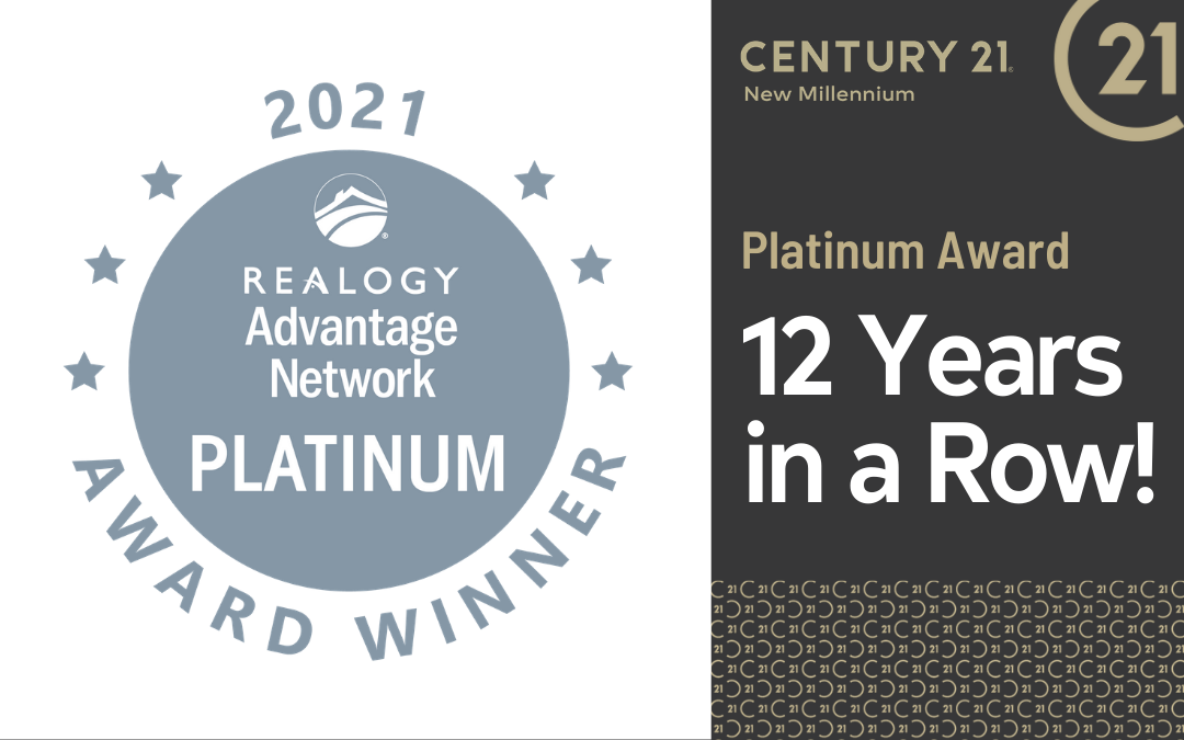 CENTURY 21 New Millennium Named Platinum Award Winner by Realogy Leads Group